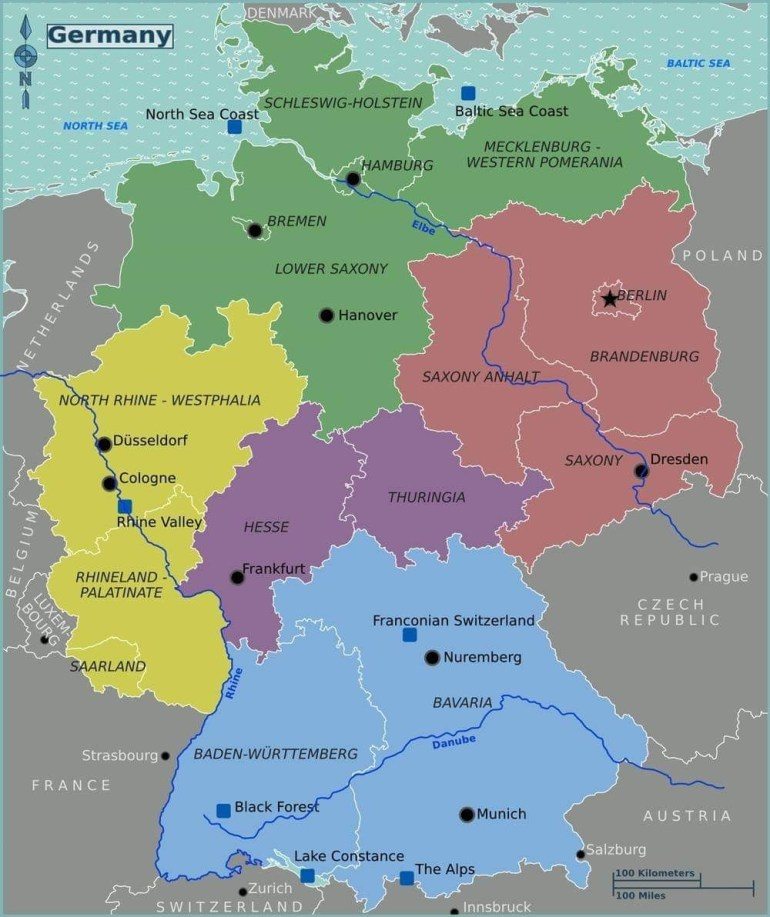 Pinursula Swartz On Pictures Of German Towns In 2019 | Germany inside Map Of Germany In English