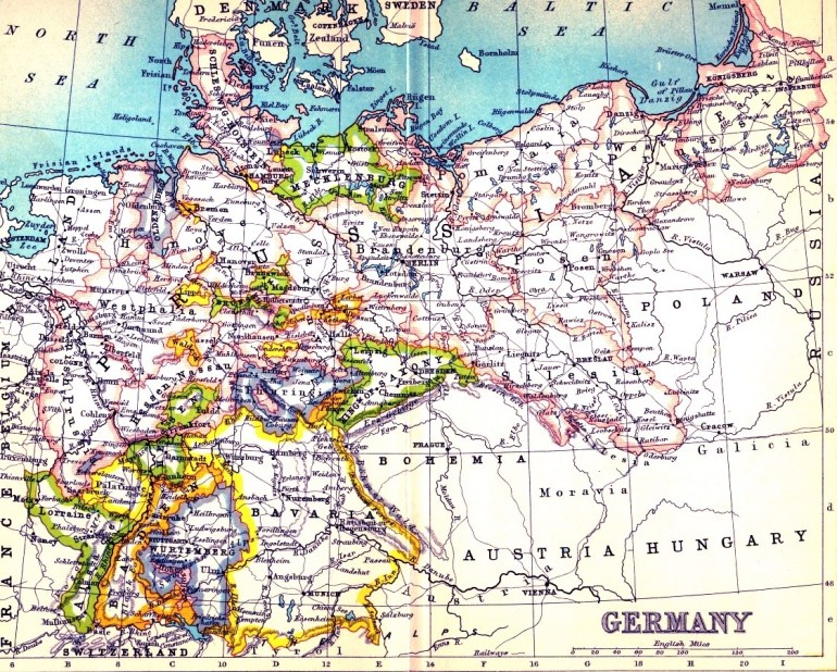 Railways In War - Part 2 - German State Railway Preparations For for Germany Map In 1900