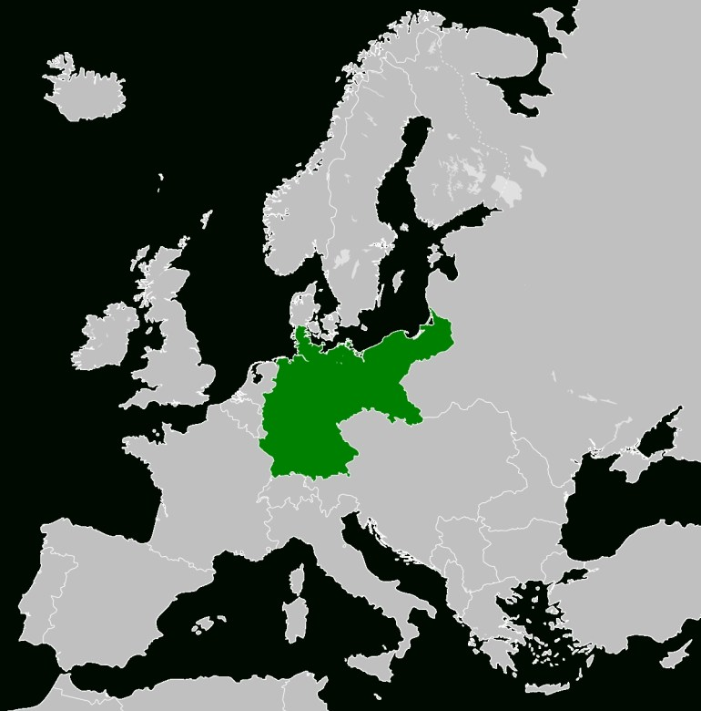 Territorial Evolution Of Germany - Wikipedia for Map Of Germany Pre Ww2