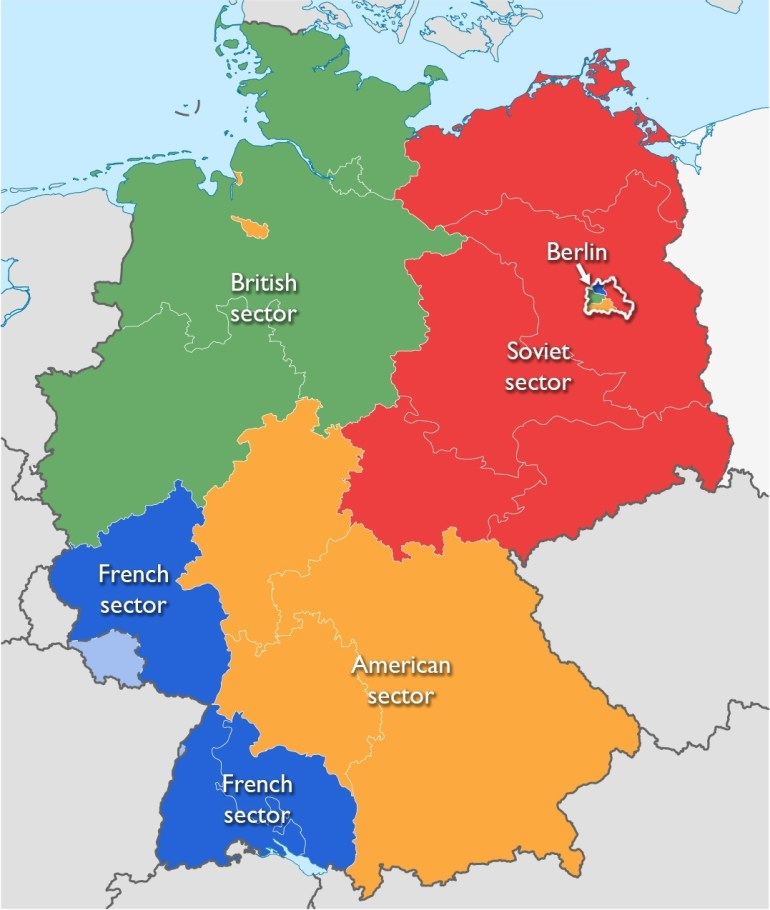 The Berlin Wall As A Political Symbol – Smarthistory regarding Map Of East Germany 1980