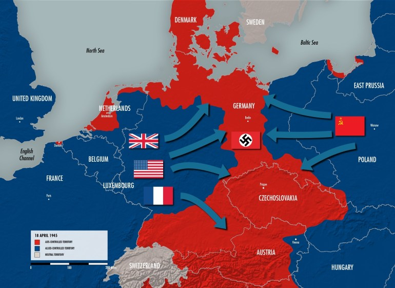The Eastern Front | The National Wwii Museum | New Orleans intended for Map Of Germany After World War Ii