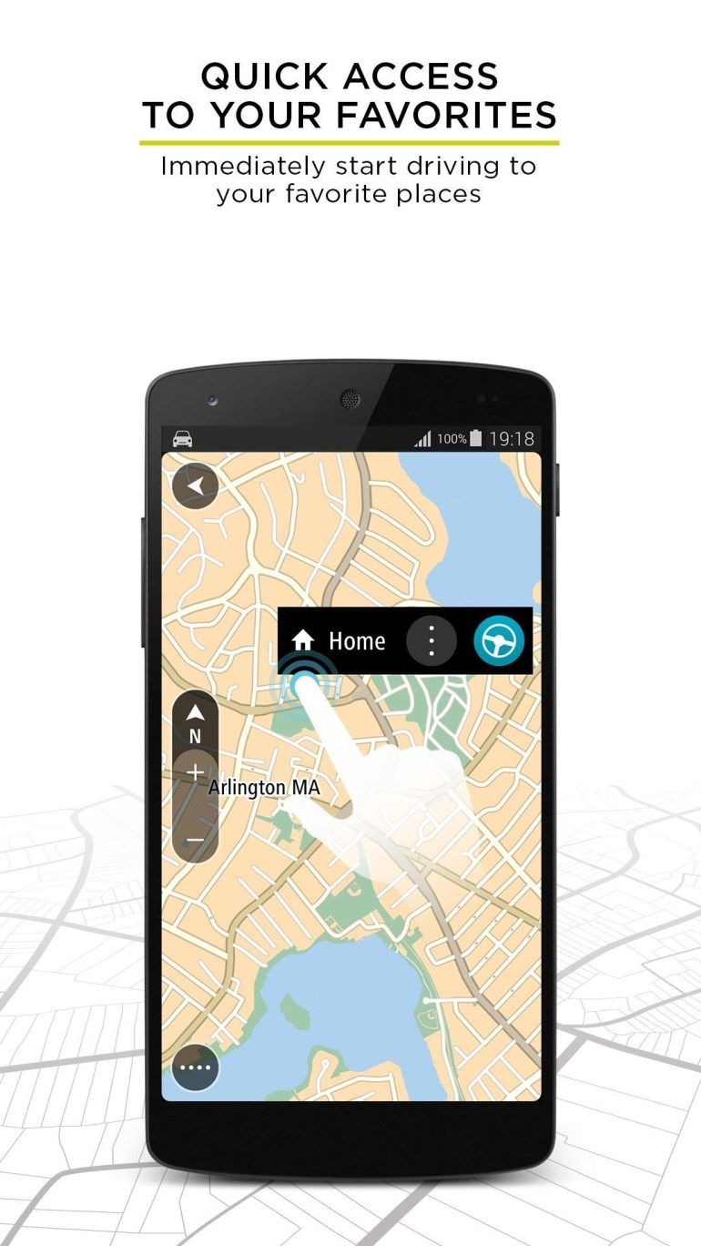 Tomtom Gps Navigation - Live Traffic Alerts & Maps For Android - Apk for Tomtom Germany Map Free Download