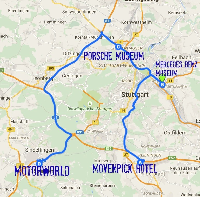 24 Hours In Str: Stuttgart Germany For Car Lovers - The pertaining to Stuttgart Train Route Map
