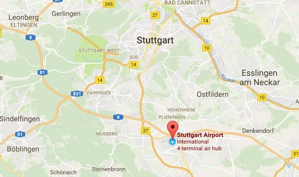 Bomb Threat At Stuttgart Airport - All Flights Suspended for Google Maps Stuttgart Möhringen