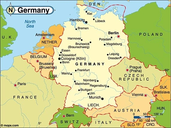 Germany | Christinathepolyglot pertaining to Map Of Germany Showing Stuttgart