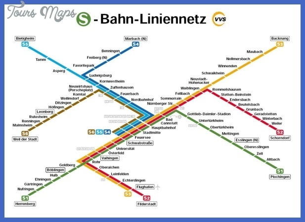 Germany Metro Map - Toursmaps in U Bahn Map Stuttgart Germany