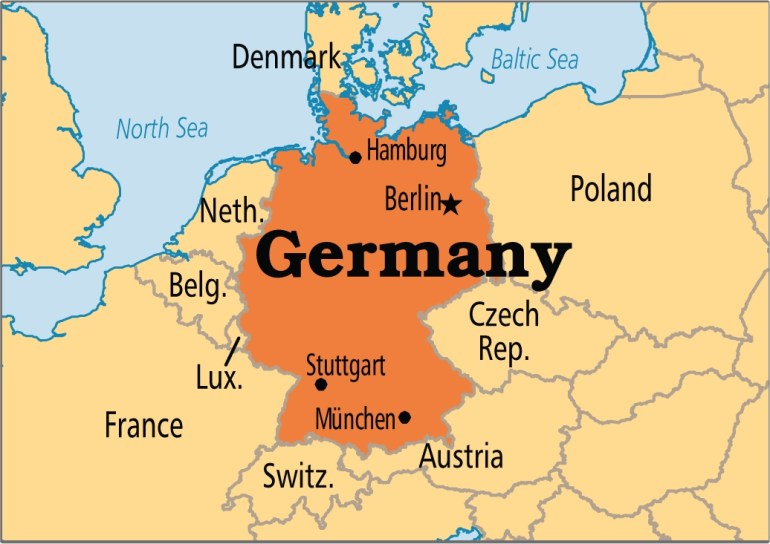 Germany | Operation World intended for Map Of Germany Showing Stuttgart