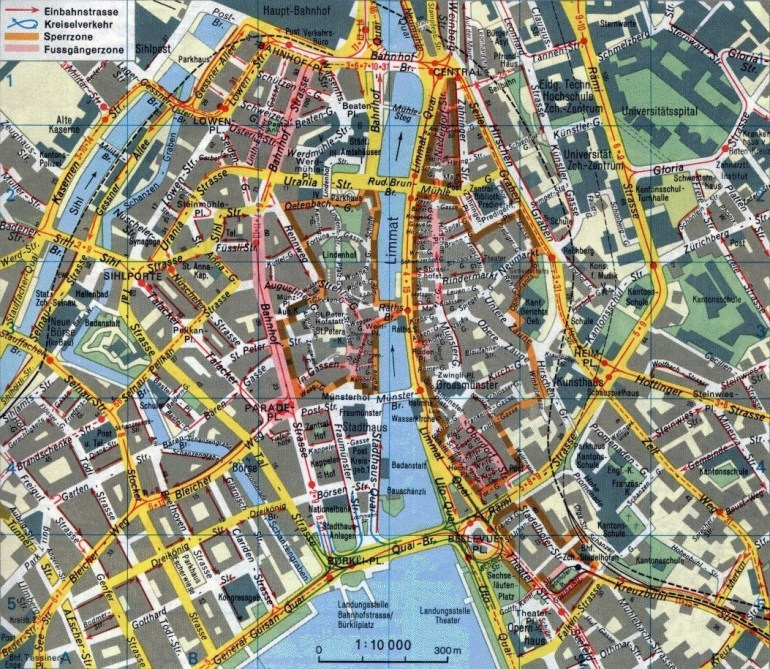 Large Detailed Metro Map Of Zurich City. Description From for Stuttgart Germany Metro Map