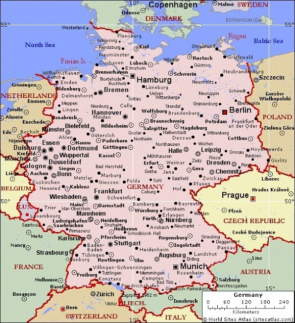 Map Of Germany Only Pic   Germany Map, Germany, German Map in Augsburg Stuttgart Google Maps