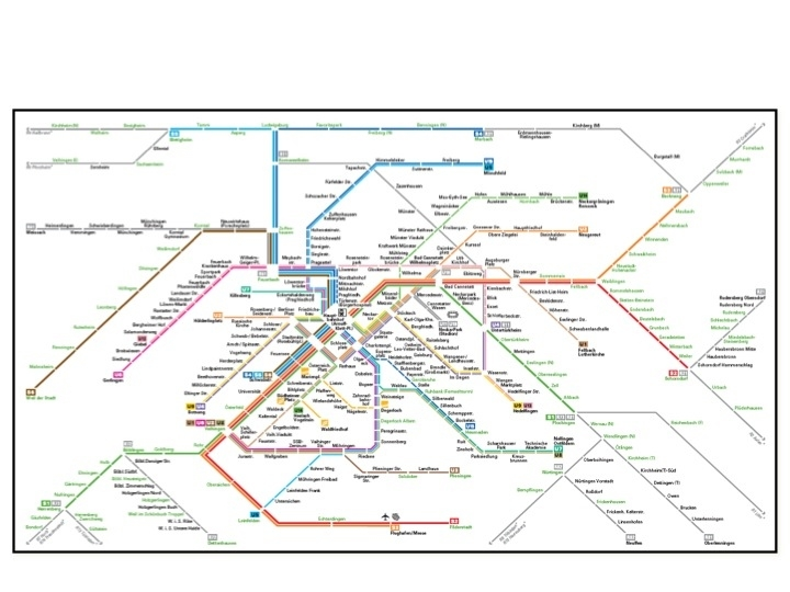 Stuttgart-The Motor City That Has Supported Public with Stuttgart Germany U Bahn Map