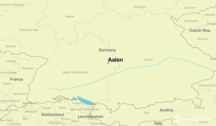 Where Is Aalen, Germany? / Aalen, Baden-Wurttemberg Map within Stuttgart Zone Map English