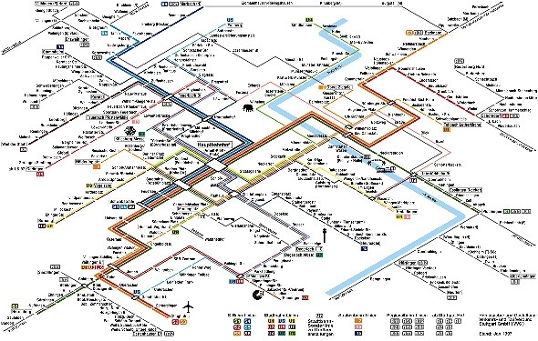 World'S Most Confusing Subway Maps - Flight Centre Blog pertaining to Stuttgart Zone Map New