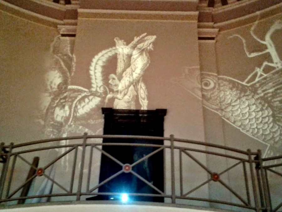 Benjamin Oliver OXYOPIA at The Ashton Memorial - Projections #03 - 17th May 2014. Photo by Claire Kingston