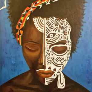 A Sabi Black art for sale