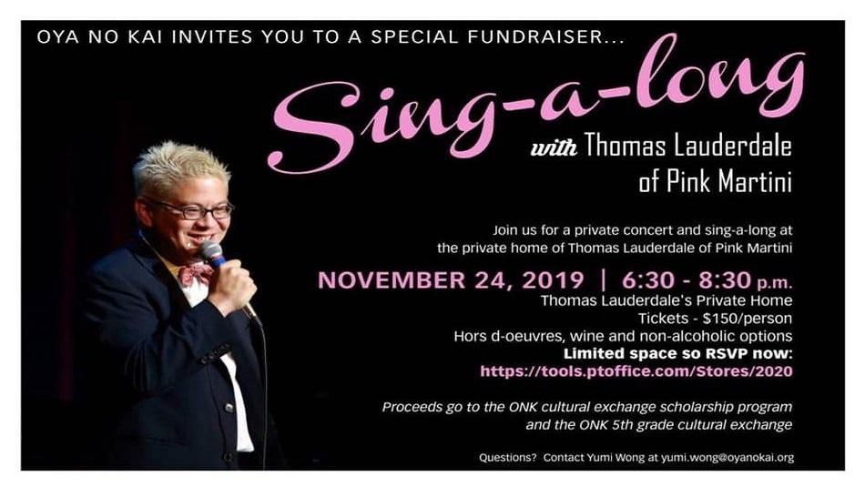 Oya No Kai Invites You to a Special Fundraiser