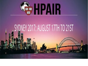 Harvard Projects for Asian and International(HPAIR) 2017 in Sydney, Australia