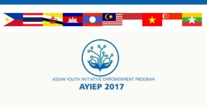 ASEAN Youth Empowerment Program in 2017 (AYIEP)