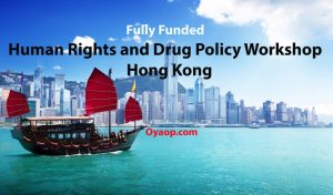Fully Funded Human Rights and Drug Policy Workshop in Hong Kong