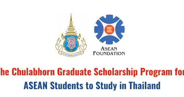 Fully Funded Chulabhorn Graduate Institute Scholarship Program