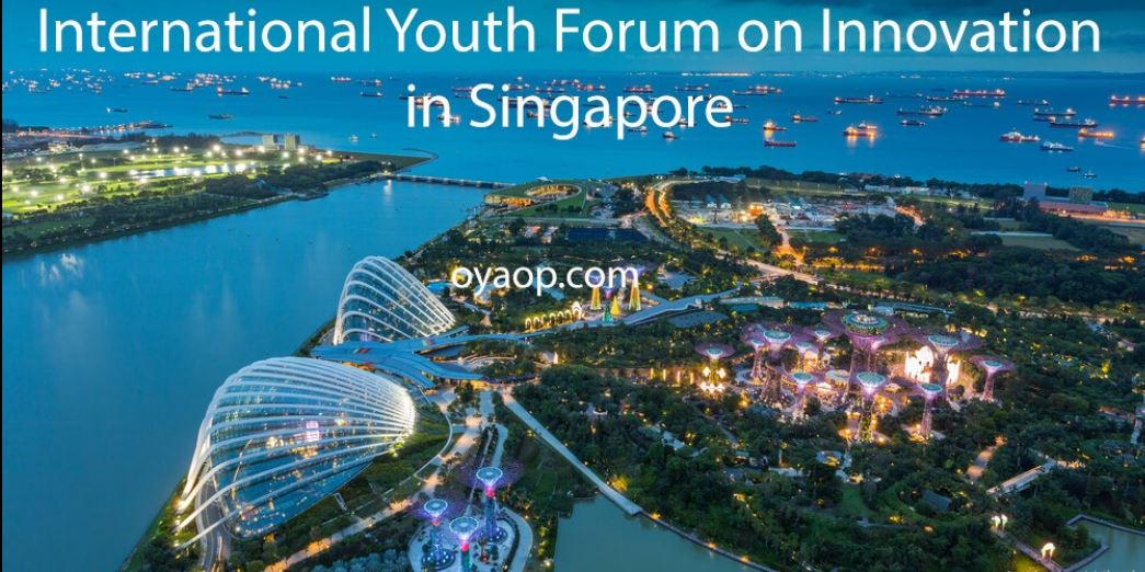 Paid Volunteer Opportunity for International Youth Forum on Innovation 2017, Singapore