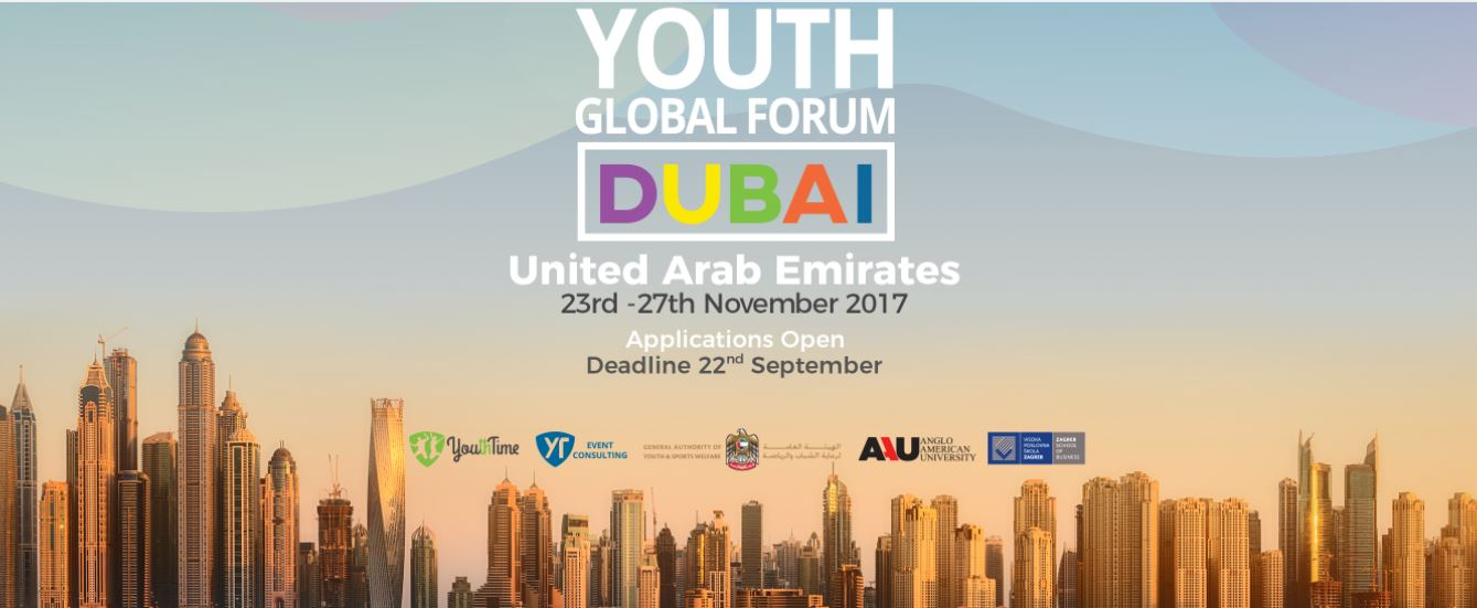The Global youth Forum 2017 in Dubai, UAE