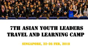 7th Asian Youth Leaders Travel and Learning Camp 2018 in Singapore