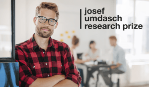 Josef Umdasch Research Prize 2018 in Austria