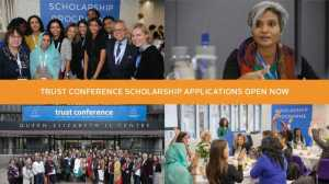 Fully Funded Scholarship to attend Trust Conference 2018 in London, UK