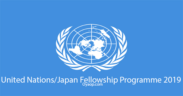 United Nations/Japan Fellowship Programme 2019