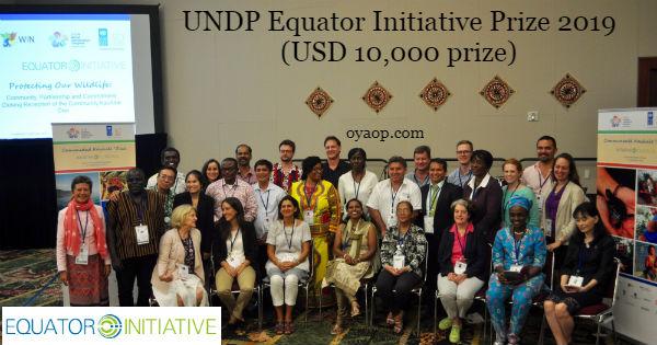 UNDP Equator Initiative Prize