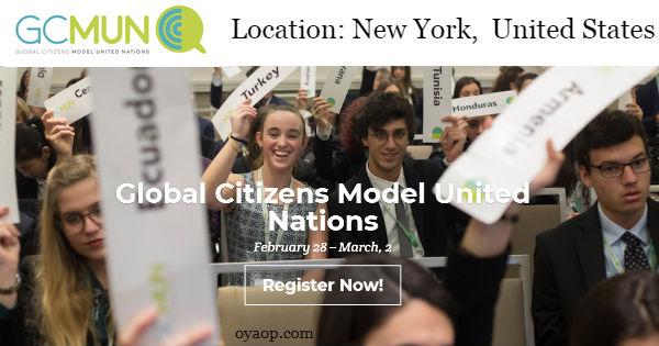 Global Citizens Model United Nations