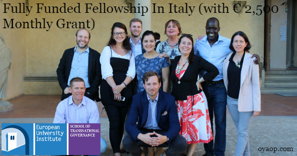 Fully Funded Fellowship