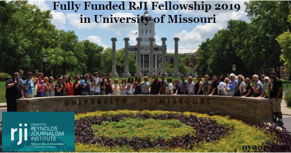 Fully Funded RJI Fellowship