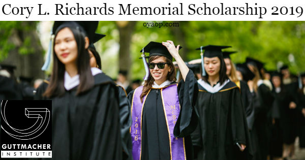 Cory L. Richards Memorial Scholarship