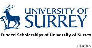 Funded Scholarships at University of Surrey