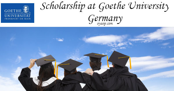 Scholarship at Goethe University