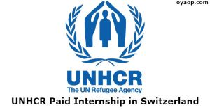 UNHRC Fellowship Programme 2019 in Geneva (Funded)