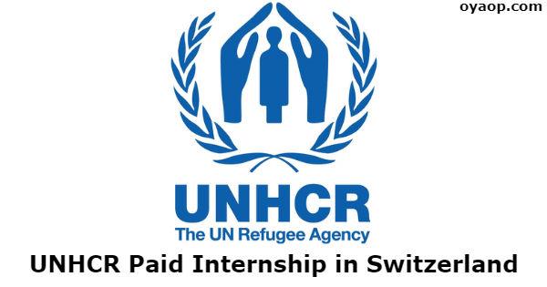 UNHRC Fellowship Programme 2019 in Geneva (Funded)