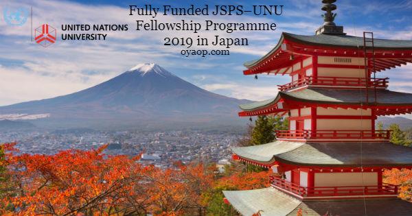 JSPS–UNU Fellowship Programme