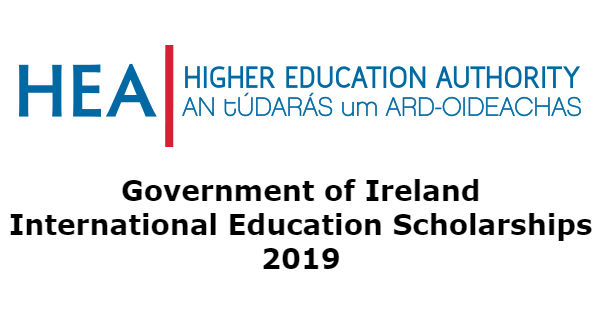 Fully Funded Government of Ireland Scholarship 2019