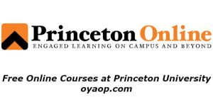 Free Online Courses at Princeton University