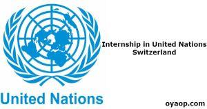 Internship in United Nations, Switzerland