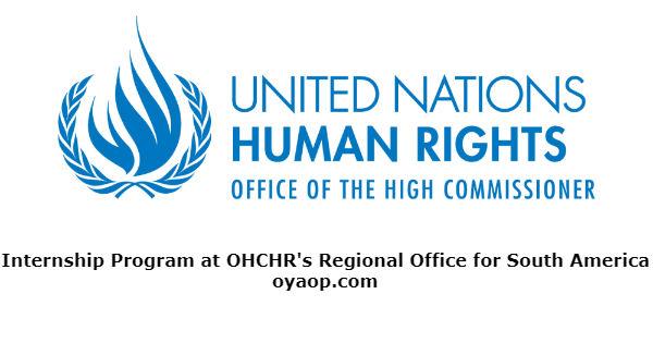 Internship Program at OHCHR's Regional Office for South America