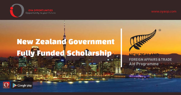 New Zealand Government Scholarship (Fully Funded)