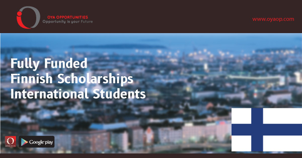 Finnish Scholarships for International Students (Fully Funded)