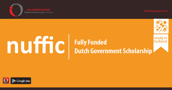 Fully Funded Dutch Government Scholarship
