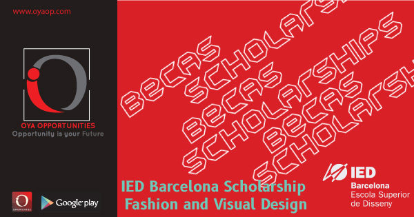 IED Barcelona Scholarship for Fashion and Visual Design