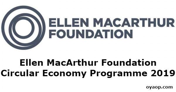 Ellen MacArthur Foundation Circular Economy Programme 2019