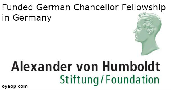 Funded German Chancellor Fellowship in Germany