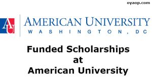 Funded Scholarships at American University